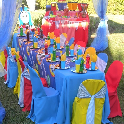 kiddies party hire